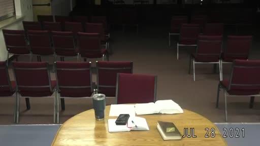 Midweek Bible Study July 28