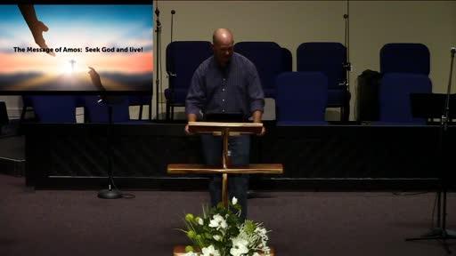 The Message of Amos, Pastor Ben Karner