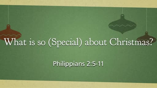 What's So Special About Christmas?
