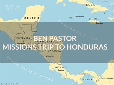 Missions Trip to Honduras