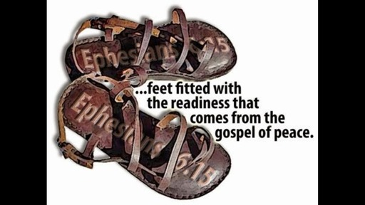 The Armor of God - The Shoes of the Gospel