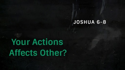 Your Actions Affects Others?