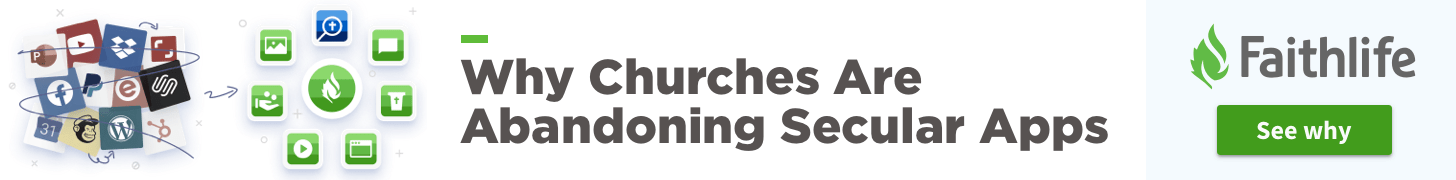 Why Churches Are Abandoning Secular Apps. See why.