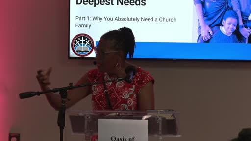 September 5, 2021 | Pastor Catherine Sledge