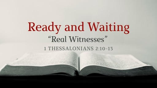 """""""Real Witnesses"""""""
