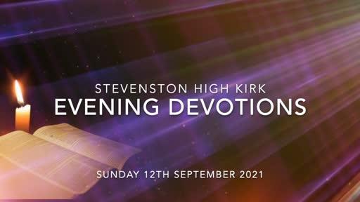 Evening Devotions (12-SEP-2021)