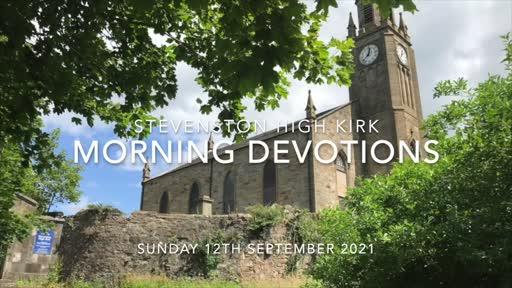 Morning Devotions (12-SEP-2021)