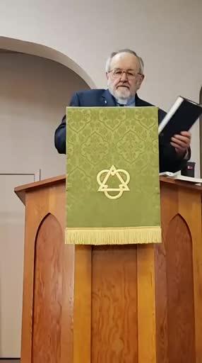 August 29, 2021 Sermon