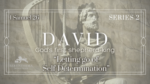 Letting Go of  Self-Determination