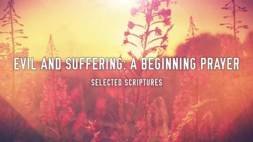 A Beginning Prayer