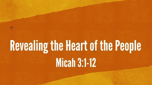 Revealing the Heart of the People