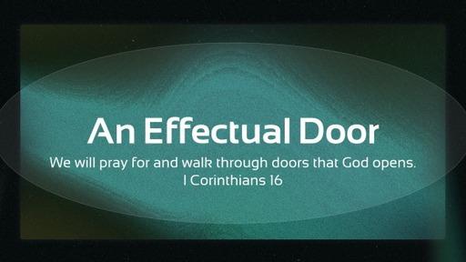 An Effectual door