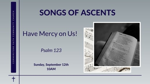 September 12, 2021 - Have Mercy on Us!