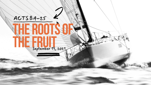 Acts 8:4-25 The Roots Of The Fruit