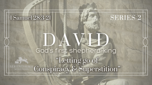 Letting Go of Conspiracy & Superstition
