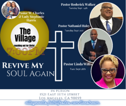 SANCTIFIED SEPTEMBER - ANNUAL FALL REVIVAL 2021