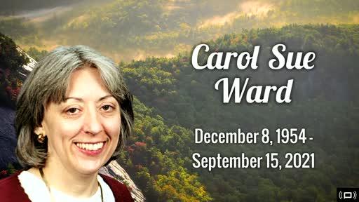 Carol Ward Celebration of Life