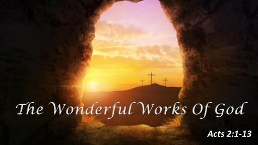 The Wonderful Works Of God
