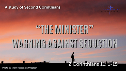 The Minister - Warning Against Seduction