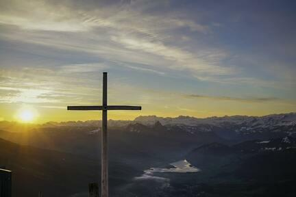 Cross On Hill Pic