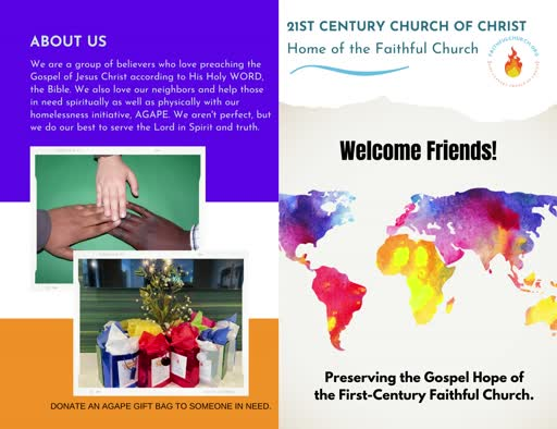 21St Century Church Of Christ
