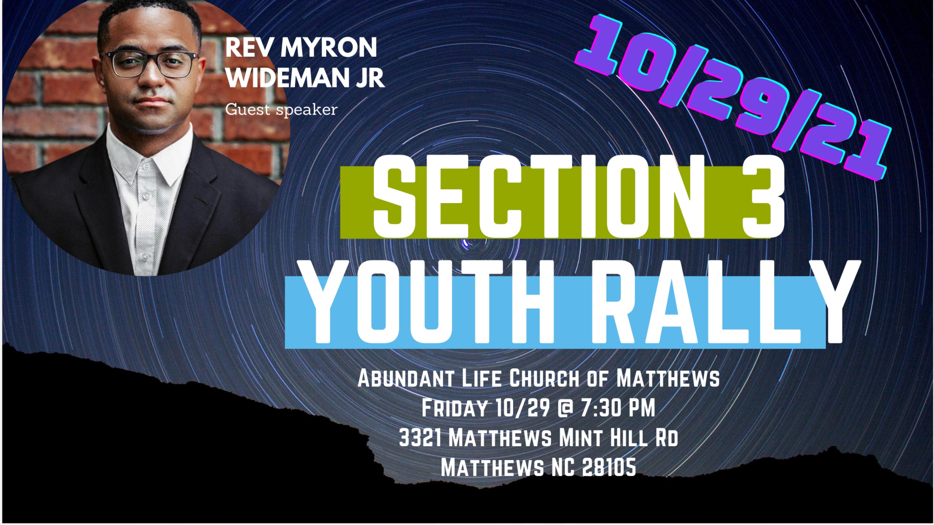 Section 3 Youth Rally