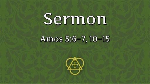 2021-10-10 - 20 Pentecost (Proper 23B)