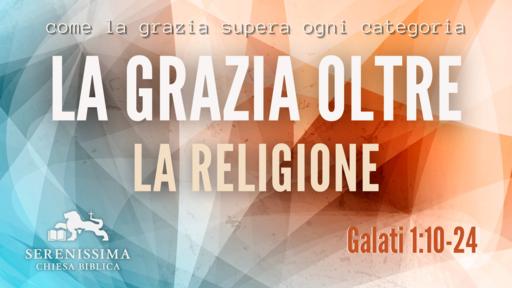 La grazia oltre la religione