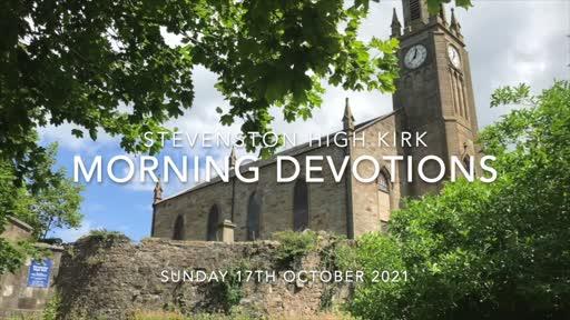 Morning Devotions (17-OCT-21)