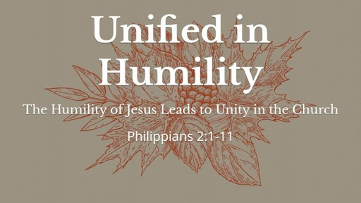 Unifed in Humility