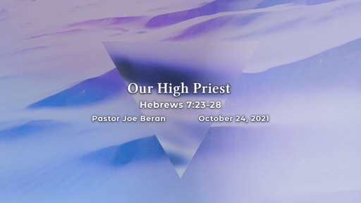 Our High Priest