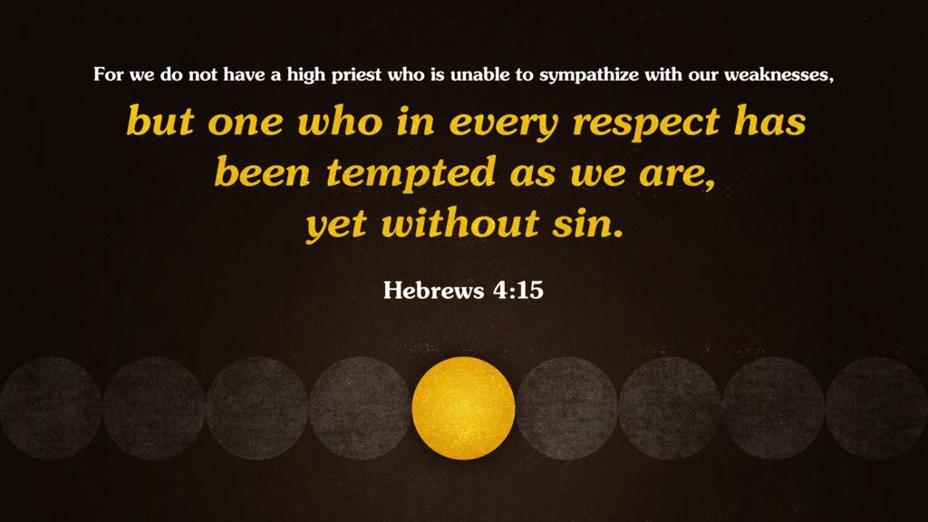 Hebrews 4:15 large preview