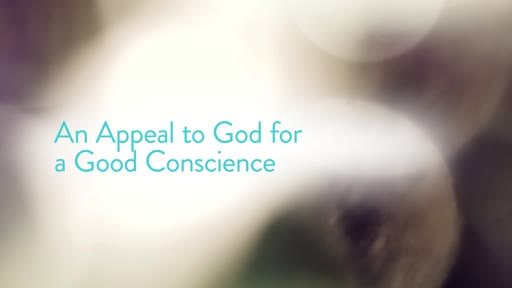 An Appeal to God for a Good Conscience