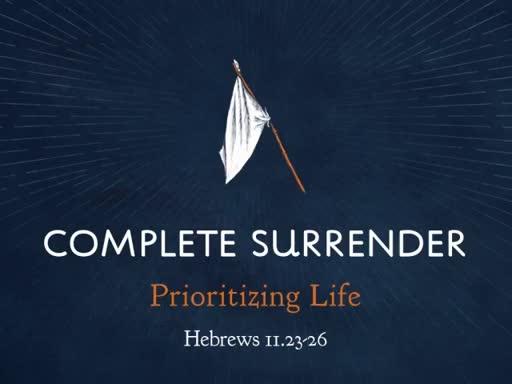 Complete Surrender