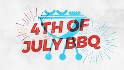 4th of July BBQ bbq 16x9 PowerPoint Photoshop image