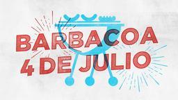 4th of July BBQ barbacoa 4 de julio 16x9 PowerPoint Photoshop image