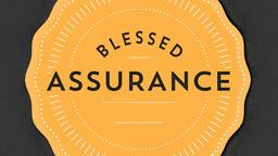 Blessed Assurance 16x9 PowerPoint Photoshop image
