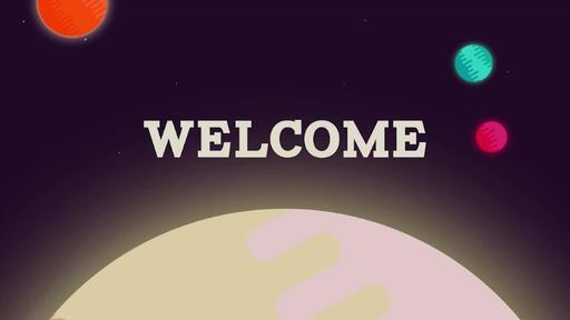 Galactic Vacation Bible School - Welcome