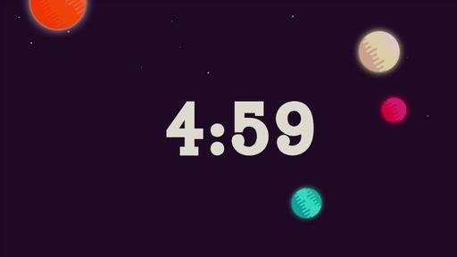 Galactic Vacation Bible School - Countdown 5 min