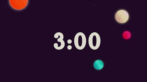 Galactic Vacation Bible School - Countdown 3 min