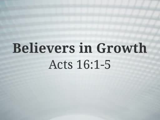 Believers in Growth