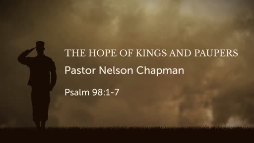 The Hope of Kings and Paupers
