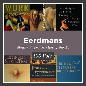 Eerdmans Modern Biblical Scholarship Bundle (100 vols.)