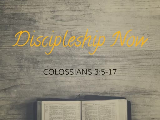Discipleship Now