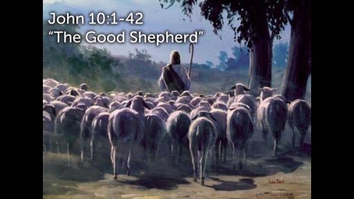 "JOhn 10:1-42 ""The Good Shepherd"""