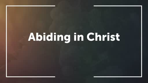 The Disciple's Identity - Part 1: You in Christ