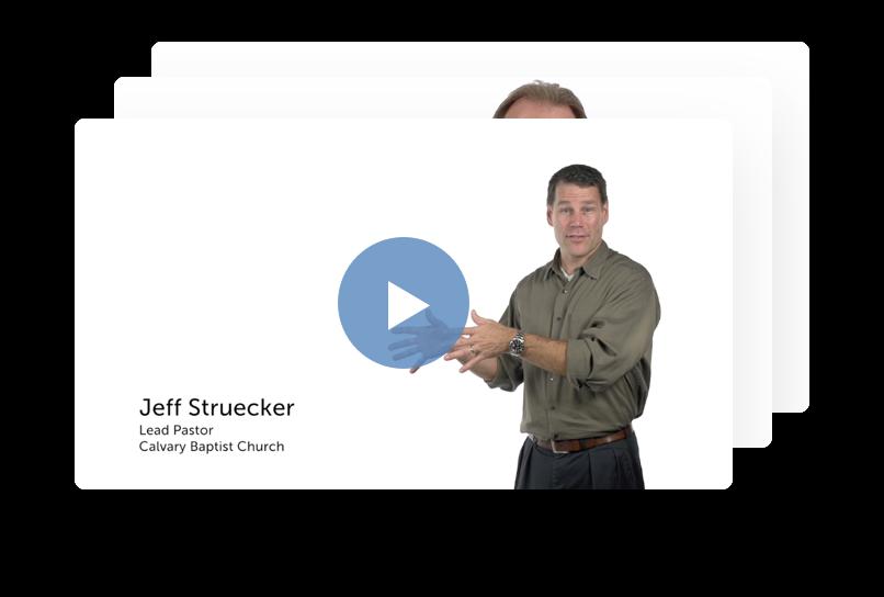 Jeff Strueker: Lead Pastor of Calvary Baptist Church