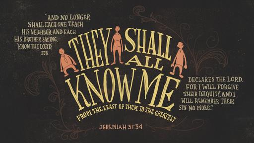 Jeremiah 31:34 verse of the day image