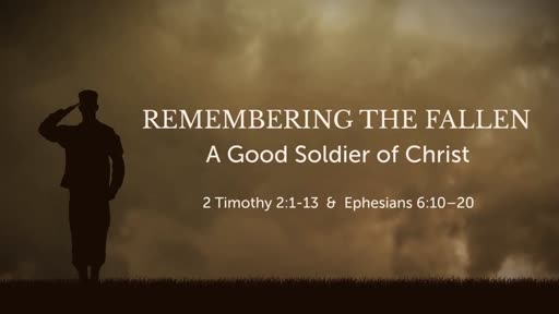 A Good Soldier of Christ