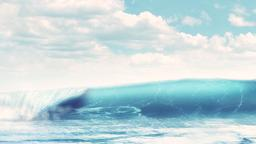 Endless Waves content a PowerPoint Photoshop image